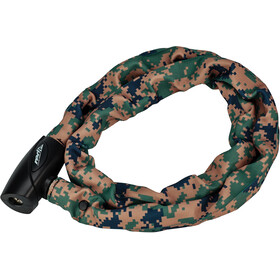 Red Cycling Products High Secure Chain Antivol, digi camo